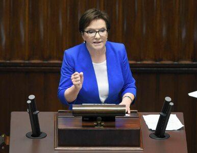 """Była premier zeznaje w prokuraturze. """"Reprezentowałam rząd w opiece nad..."""