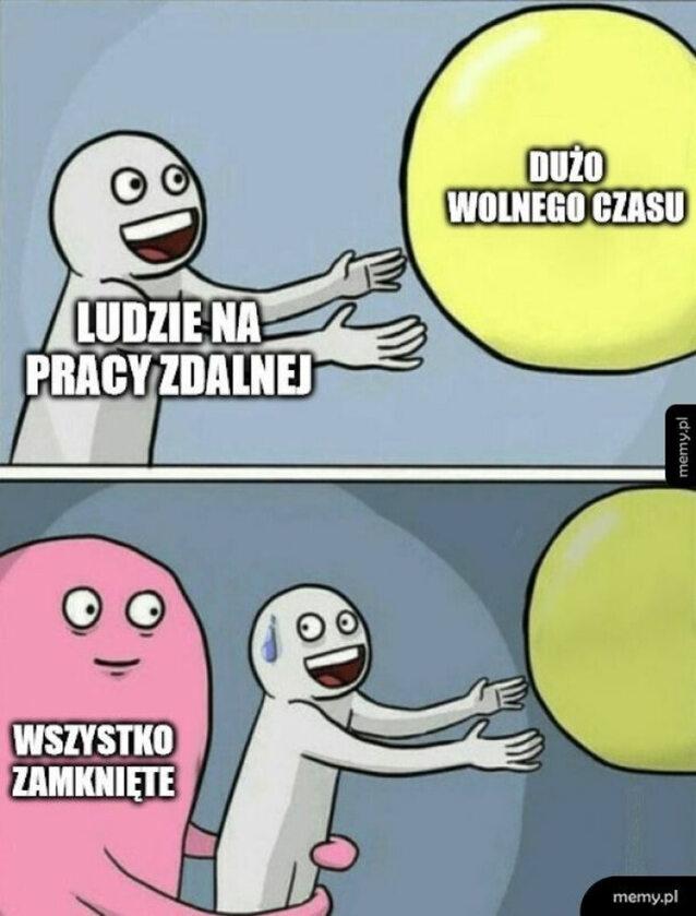 Mem o pracy zdalnej