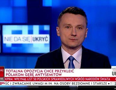 """Grupa naukowców zbadała paski w TVP Info. """"Coraz mniej informacji, coraz..."""