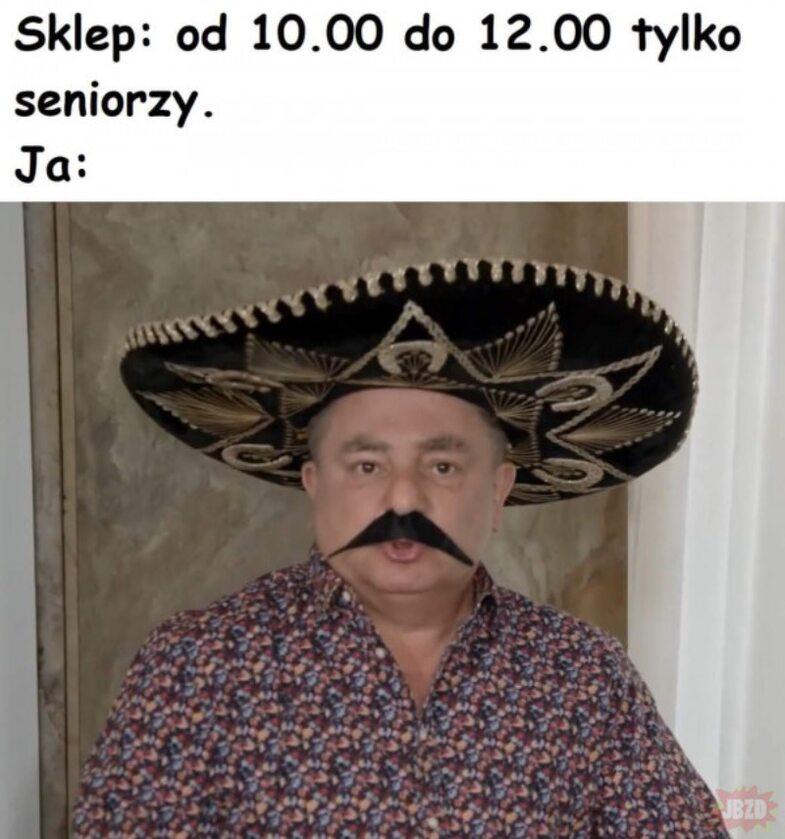 Godziny dla seniorów (Memy)