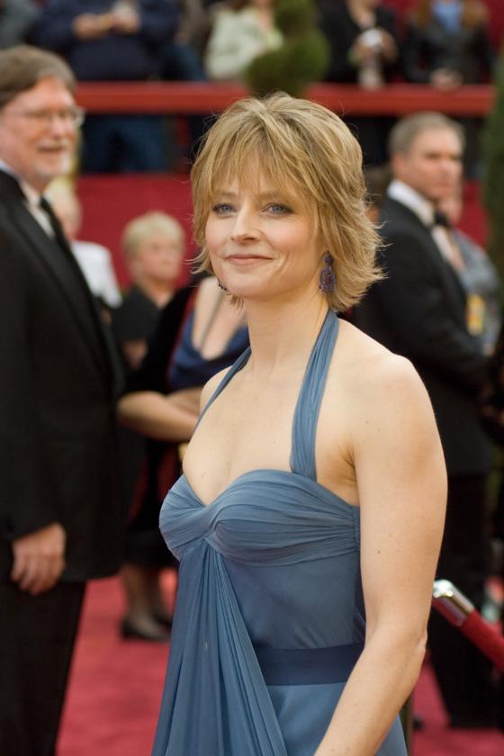 Jodie Foster podczas 79. ceremonii rozdania Oscarów w 2007 roku