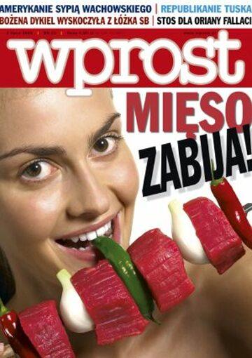Okładka tygodnika Wprost nr 26/2005 (1178)