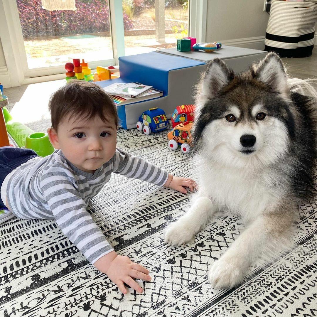 Norman i dziecko