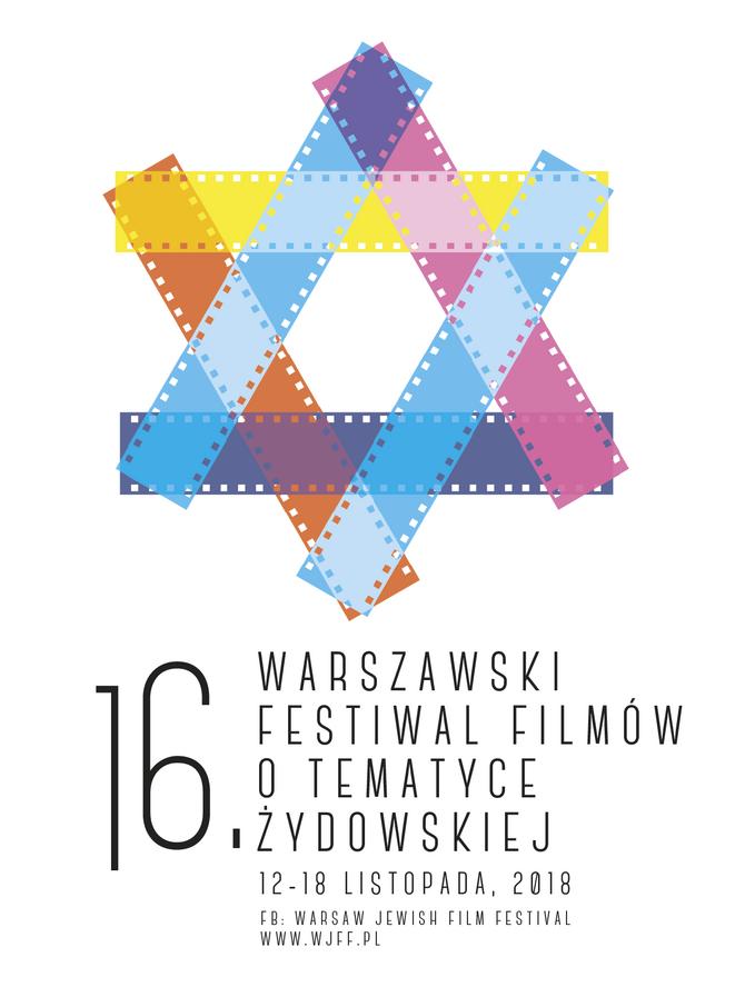 Plakat 16. edycji Warsaw Jewish Film Festival