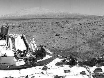 Co łazik Curiosity znalazł na Marsie?