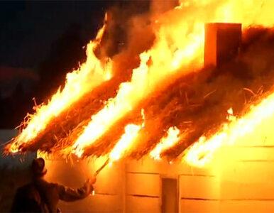 UPA spaliła polską wioskę. Inscenizacja w Radymnie