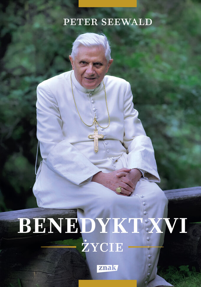 """Okładka książki """"Benedykt XVI życie"""""""