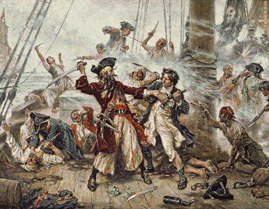 """Postrach Karaibów i """"wysłannik piekieł"""". Najsłynniejszy pirat w historii..."""
