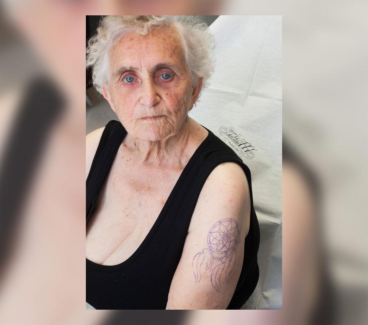 83-letnia Crystal