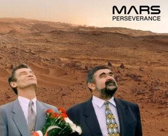 Memy zainspirowane lądowaniem łazika Perseverance na Marsie
