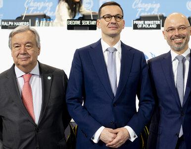 Morawiecki: Polska razem z Bankiem Światowym powołuje fundusz...