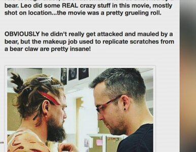 Tak wyglądały przygotowania DiCaprio do sceny walki z niedźwiedziem!