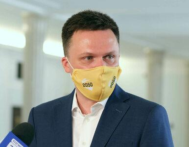 """Wniosek Ziobry ws. Banasia. Hołownia o """"ewidentnej zemście Kaczyńskiego..."""