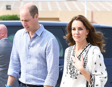 Samolot wpadł w turbulencje. Na pokładzie księżna Kate i książę William