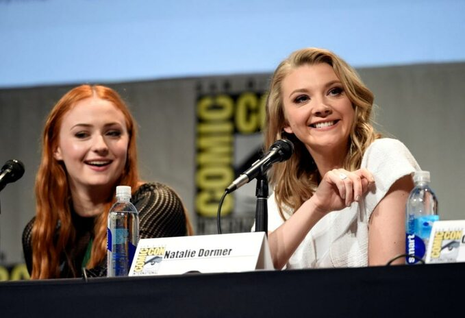 Comic-Con -Game ofThrones: Sophie Turner, Natalie Dormer