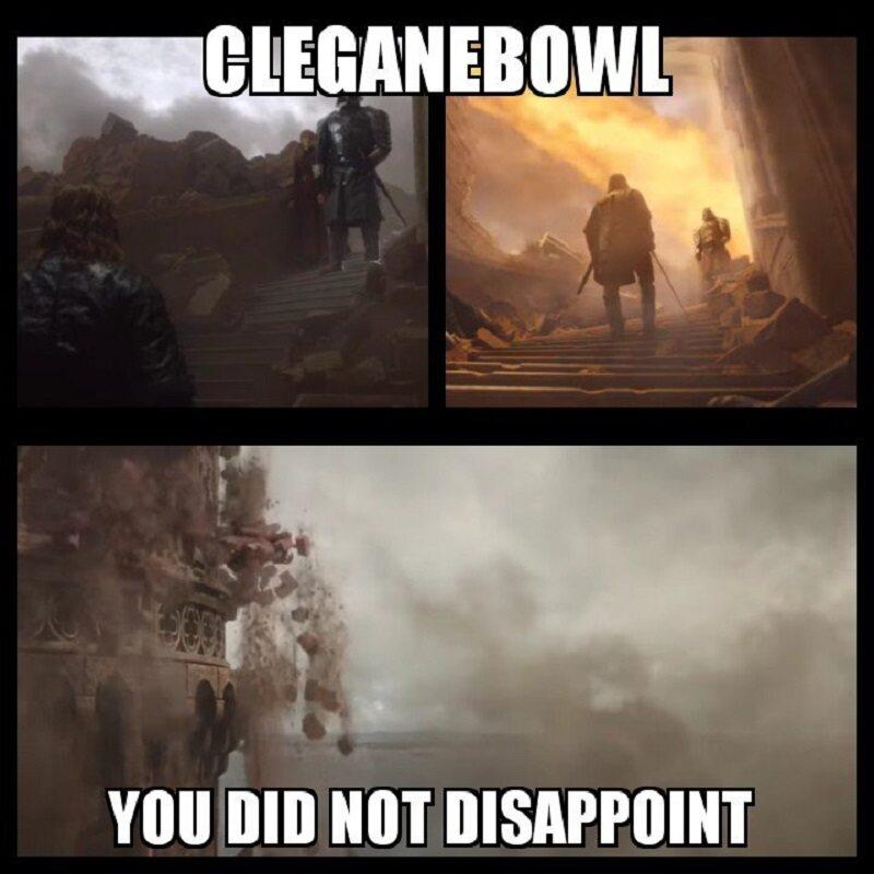 W końcu zobaczyliśmy walkę braci Clagane