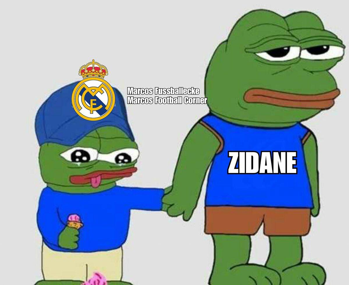 Mem zainspirowany powrotem Zidane'a do Realu Madryt