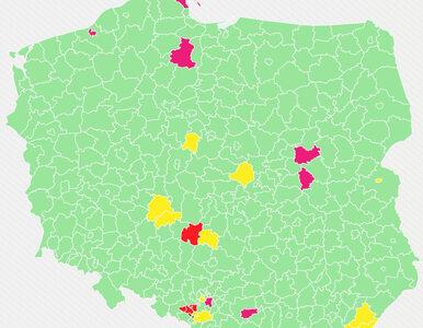 MZ podało nową listę żółtych i czerwonych powiatów. Gdzie obowiązują...