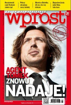 Okładka tygodnika Wprost nr 35/2012 (1541)