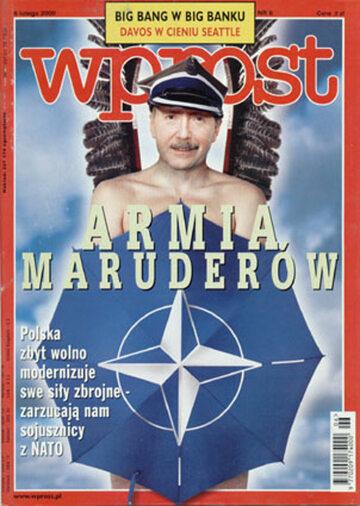 Okładka tygodnika Wprost nr 6/2000 (897)