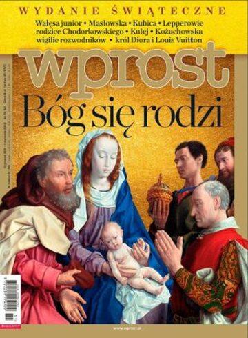 Okładka tygodnika Wprost nr 51-52/2011 (1506)