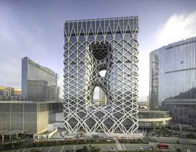 Hotel Morpheus – najwyższy na świecie budynek z egzoszkieletem