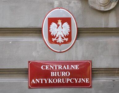 Łapówki na ponad milion złotych. CBA zatrzymało m.in. syna senatora PiS