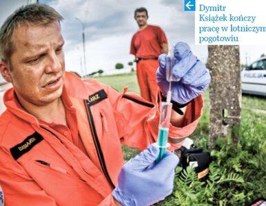 Dymitr Książek - lekarz pogotowia poleciał za Smoleńsk