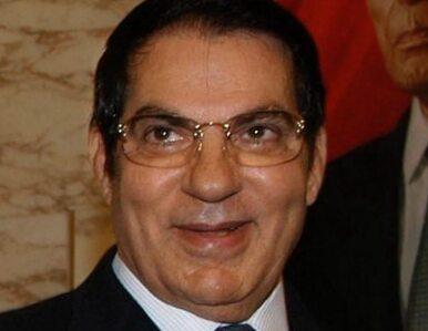 Zawieszono partię byłego prezydenta Tunezji