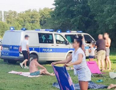 Lubuskie. Pijany kierowca BMW wjechał na plażę pełną ludzi
