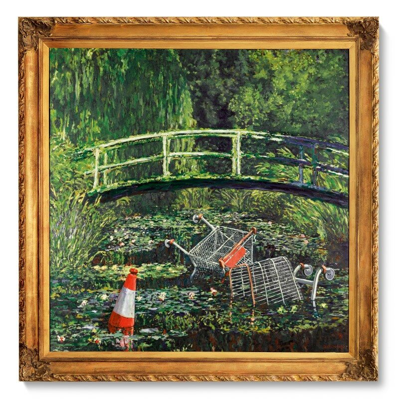 """""""Show Me The Monet"""" Banksy'ego"""