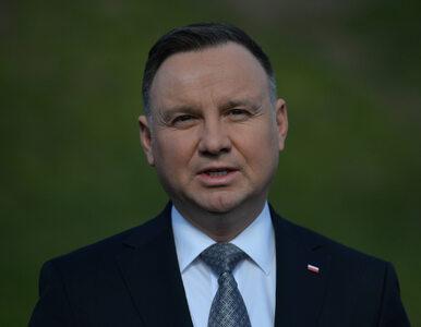 """Andrzej Duda komentuje pomysł przedstawiony przez Budkę. """"Ja słucham..."""