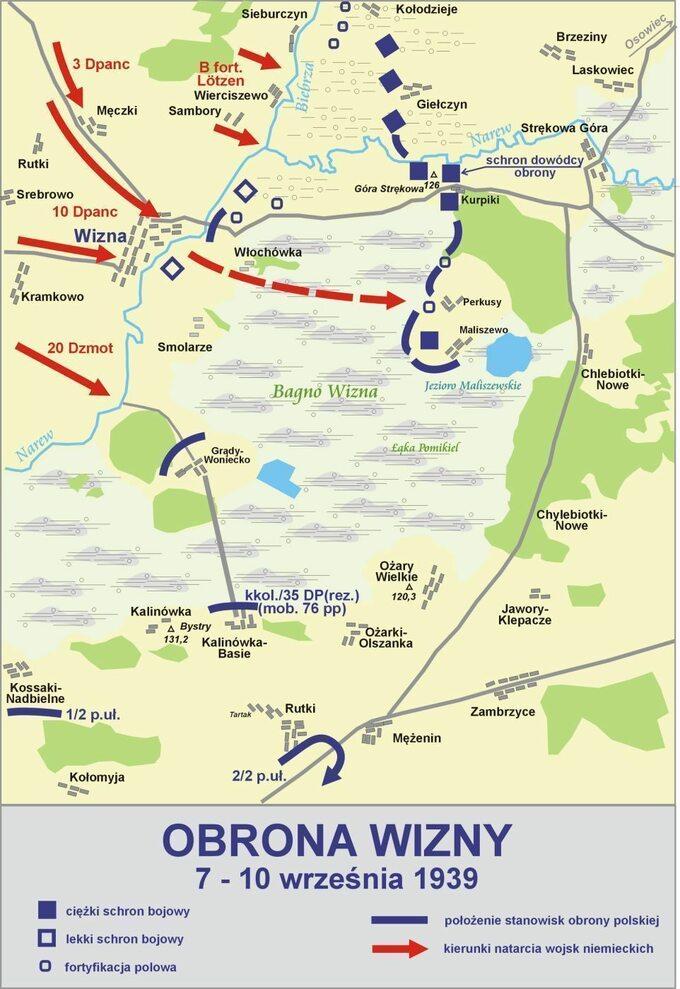 Bitwa podWizną 7-10 września 1939r.