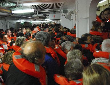 Costa Concordia: kapitan nie chciał wrócić, choć trwała ewakuacja