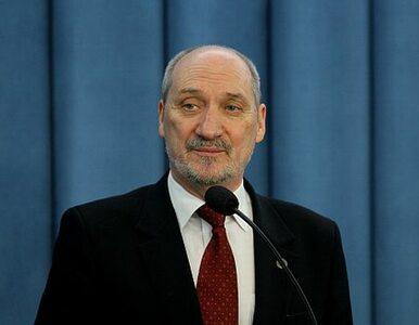 Macierewicz donosi na byłego ministra i szefa BOR. Za celowe zaniechania