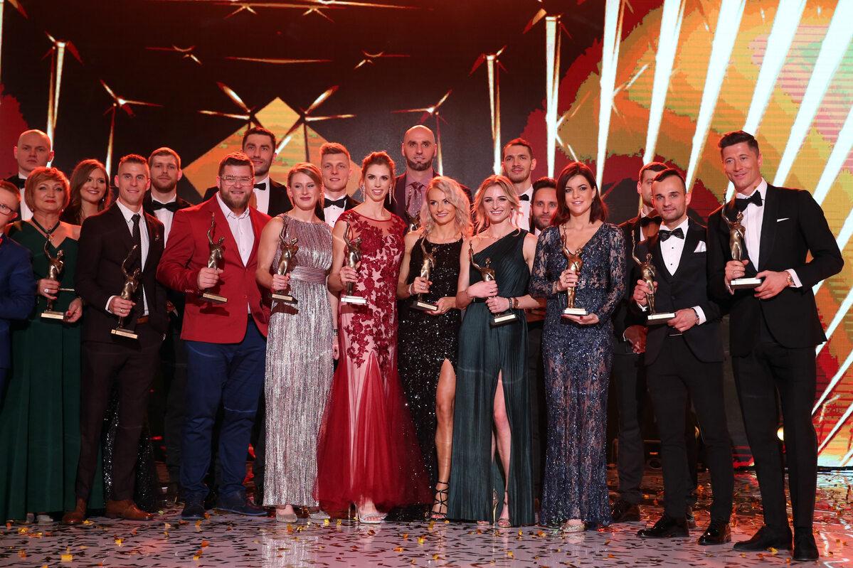 """Laureaci nagród w plebiscycie """"Przeglądu Sportowego"""""""