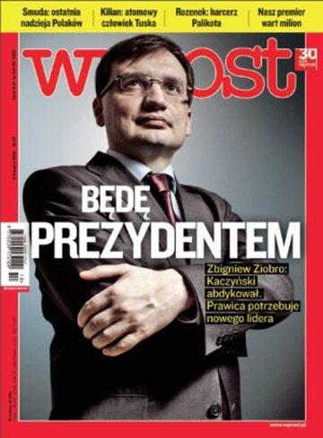 Okładka tygodnika Wprost nr 10/2012 (1516)