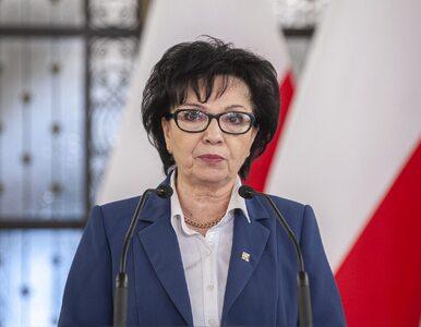 Elżbieta Witek ogłosiła termin wyborów prezydenckich