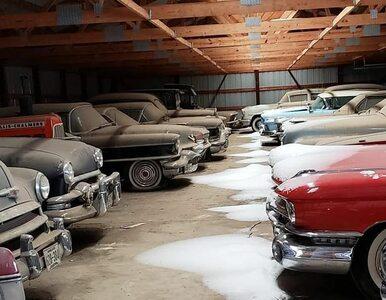 Stodoła emeryta skrywała skarby motoryzacji. Blisko 200 aut trafiło na...