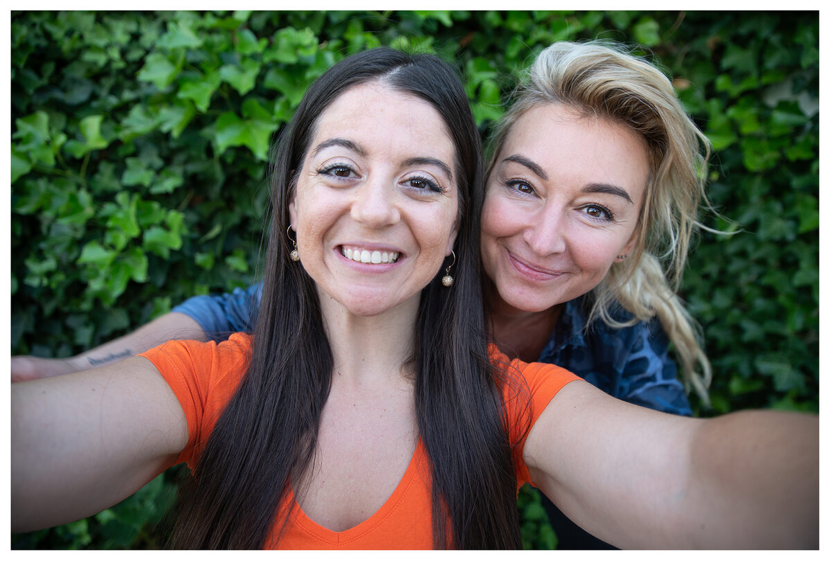 Martyna Wojciechowska i Jennifer Bricker-Bauer