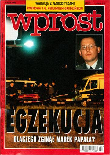 Okładka tygodnika Wprost nr 27/1998 (814)