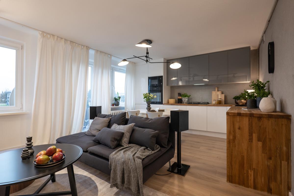 Efekt remontu Doroty Szelągowskiej w mieszkaniu pani Dominiki i pana Mateusza