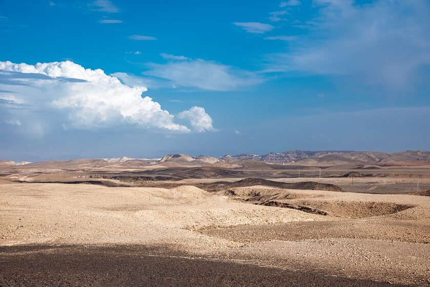 Pustynia Negew w Izraelu