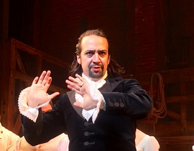 Lin-Manuel Miranda jako Hamilton