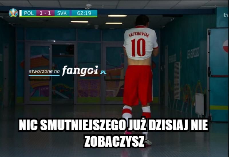 Mem po meczu Polaków ze Słowakami