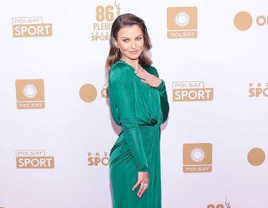 Anna Lewandowska w pięknej sukni na Gali Mistrzów Sportu. Ale o co...