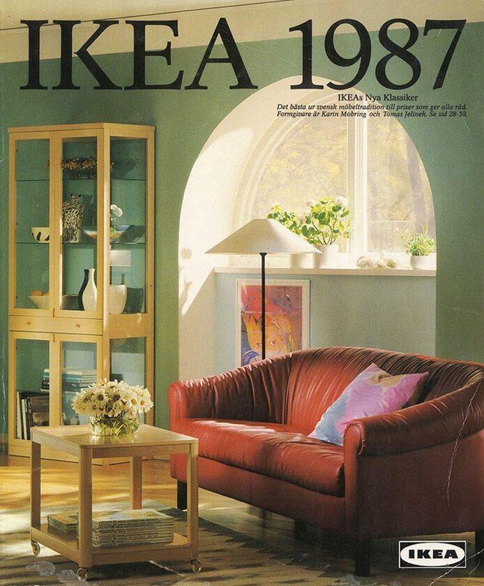Okładka katalogu IKEA z 1987 roku