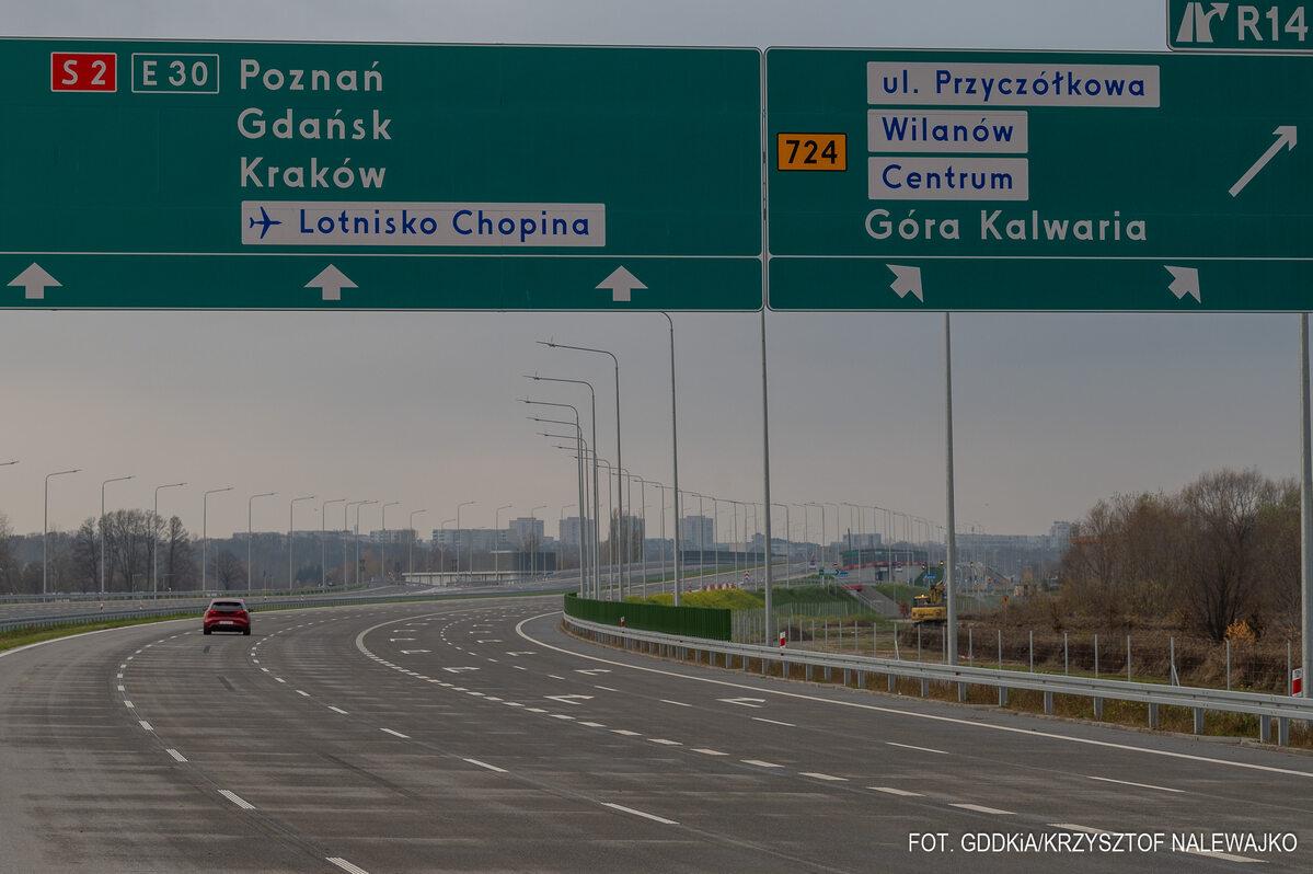 Izera na Południowej Obwodnicy Warszawy