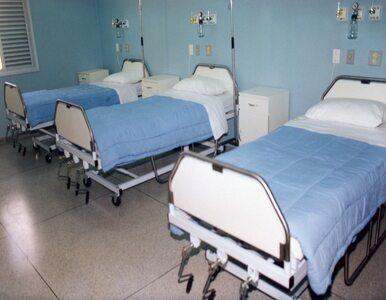 52-latek wypadł z okna szpitala. Nie żyje