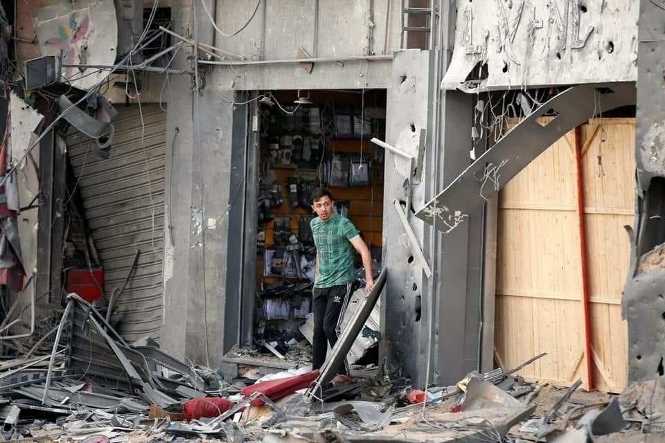 Gaza bombardowanie